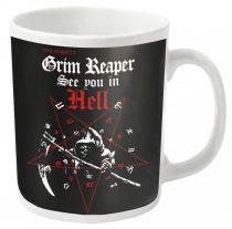 Grim Reaper - SEE YOU IN HELL bögre