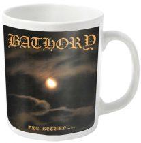 Bathory - THE RETURN... (WHITE) bögre