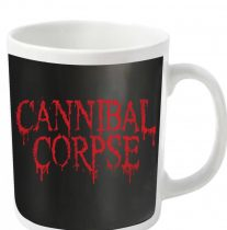 Cannibal Corpse - DRIPPING LOGO (WHITE) bögre