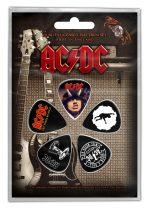 AC/DC 6 darabos gitárpengető szett