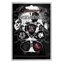 Black Veil Brides - Skull 5 darabos gitárpengető szett