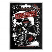 The Exploited - Skull 5 darabos gitárpengető szett