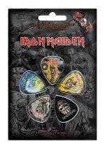 Iron Maiden 6 darabos gitárpengető szett