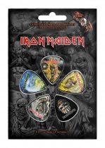 Iron Maiden 5 darabos gitárpengető szett