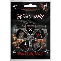 Green Day 6 darabos gitárpengető szett 2