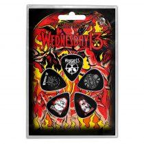 Wednesday 13 - Logo Shovels 5 darabos gitárpengető szett