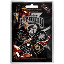 Motorhead Lemmy 5 darabos gitárpengető szett