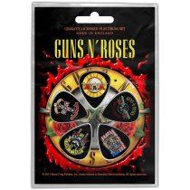 Guns N Roses - Bullet Logo 5 darabos gitárpengető szett