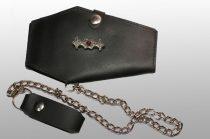 Koporsó alakú bőr pénztárca