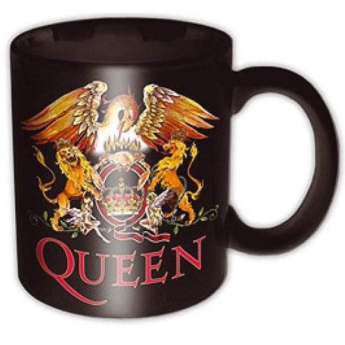 Queen - Classic Crest bögre - RockStore.hu - Rockzenei kiadványok ... 195b39de83