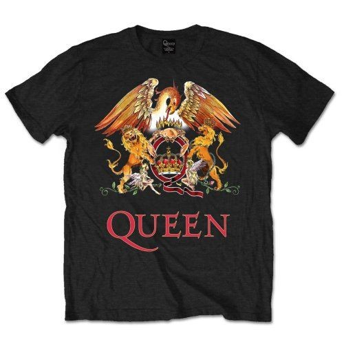Queen - Classic Crest póló - RockStore.hu - Rockzenei kiadványok ... 3502c893c7