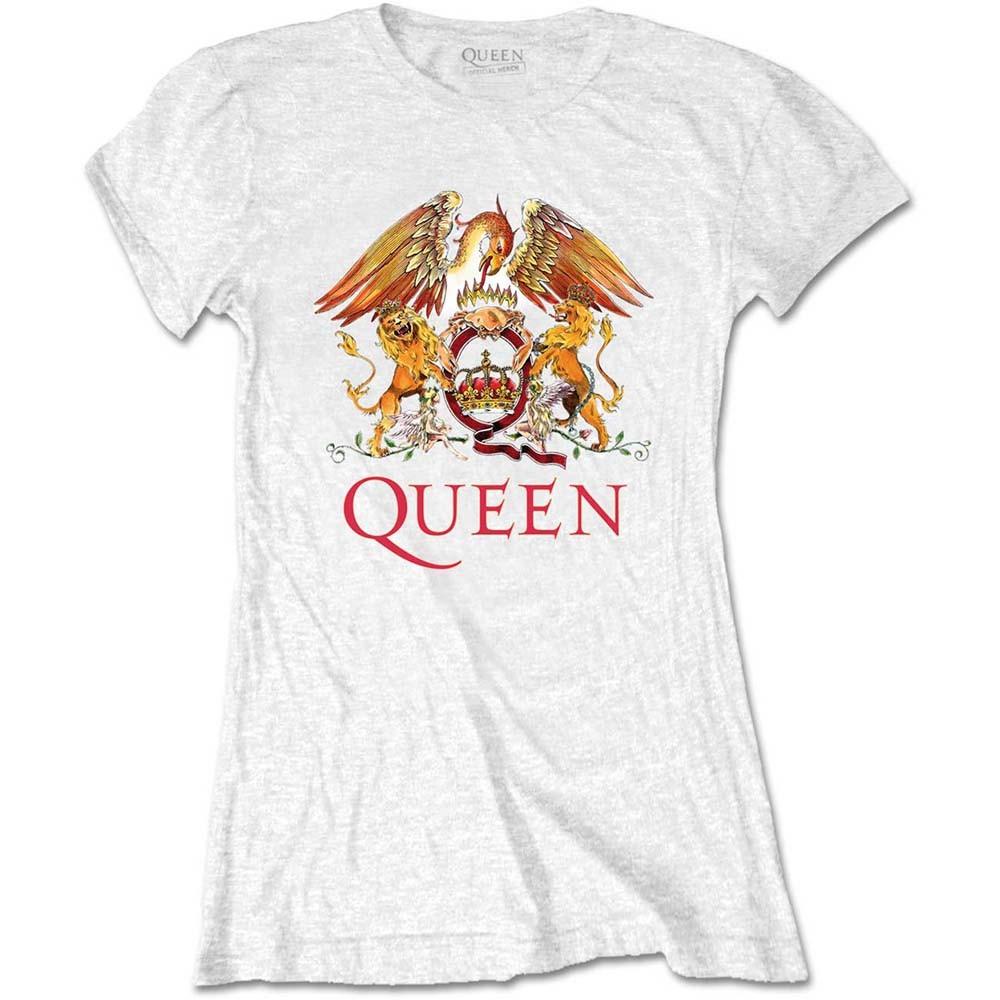Queen - Classic Crest női póló - RockStore.hu - Rockzenei kiadványok ... 0126e04b28
