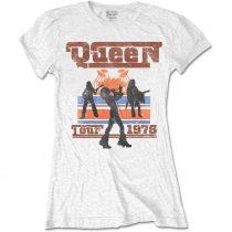 Queen - 1976 Tour Silhouettes női póló
