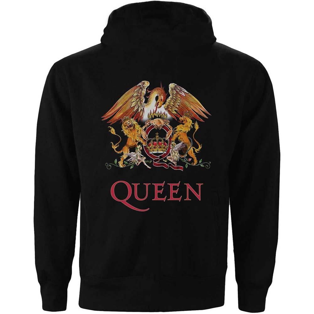 Queen - Classic Crest pulóver - RockStore.hu - Rockzenei kiadványok ... 2abcdfdb0a
