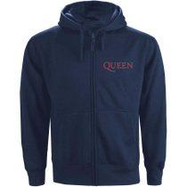 Queen - Classic Crest Blue pulóver