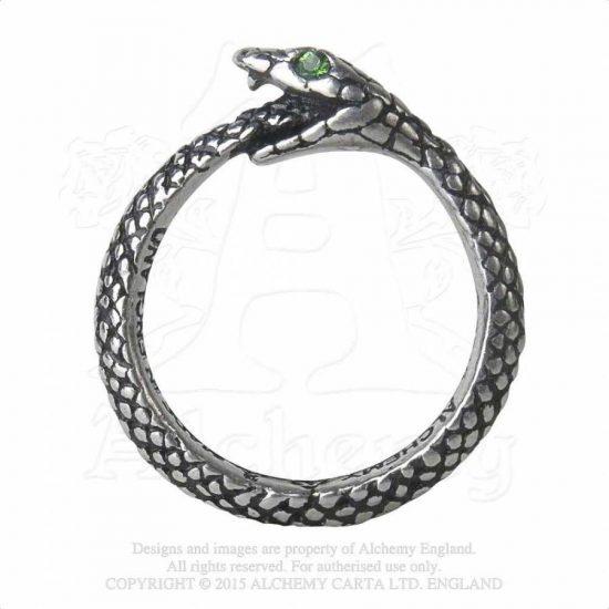 Alchemy The Sophia Serpent gyűrű