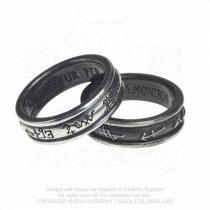 Alchemy Demon Black & Angel White gyűrű