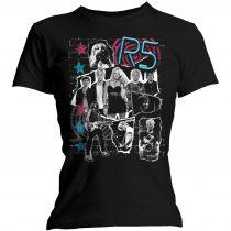 R5 - Grunge Collage női póló