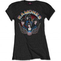 Ramones - Vintage Wings Photo női póló
