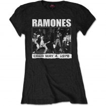Ramones - CBGBS 1978 női póló