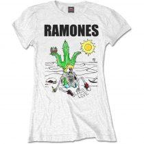 Ramones - Loco Live női póló