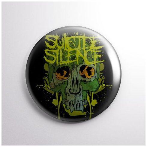 Suicide Silence - Skull kitűző