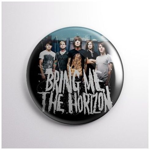 Bring Me The Horizon - Band kitűző