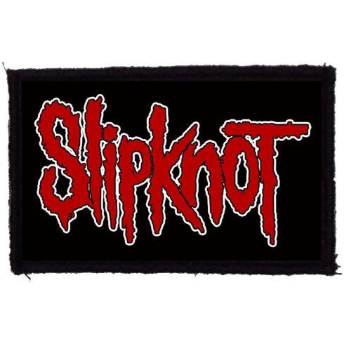 Slipknot - Red Logo felvarró