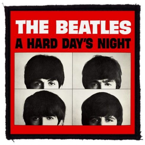 Beatles - A Hard Days Night felvarró