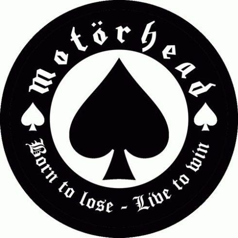 Motorhead - Born To Lose felvarró