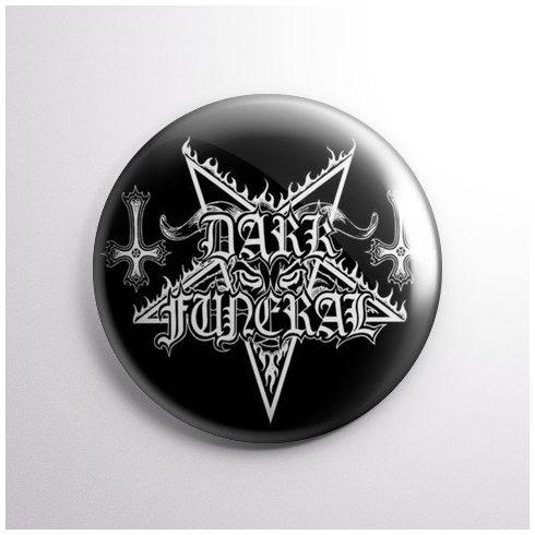 Dark Funeral - Logo kitűző