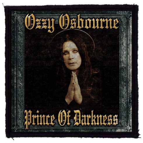 Ozzy Osbourne - Prince Of Darkness felvarró