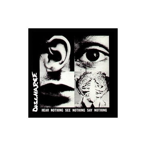 Discharge - Hear Nothing felvarró