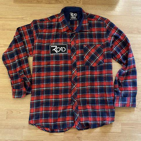 Road piros-kék ing