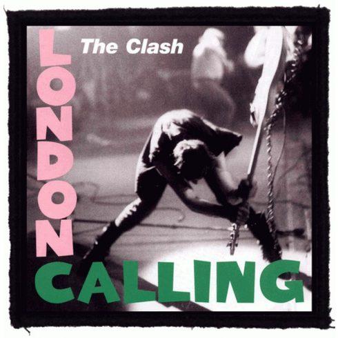 The Clash - London Calling felvarró