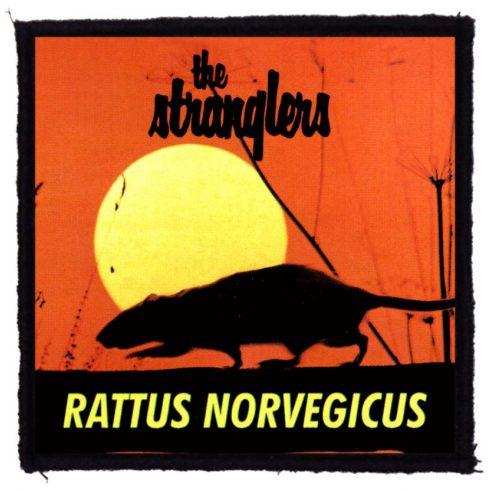 Stranglers - Rattus felvarró