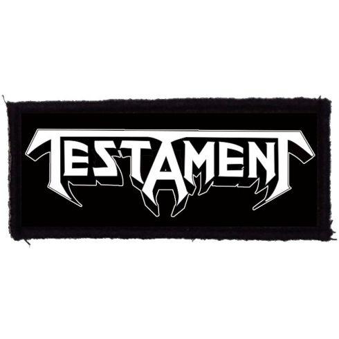 Testament - Logo felvarró