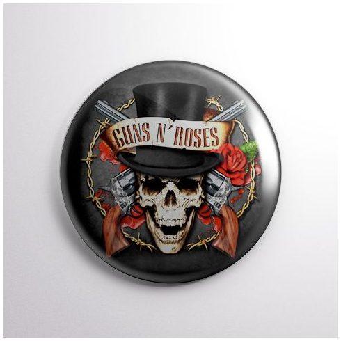 Guns N Roses - Skull kitűző
