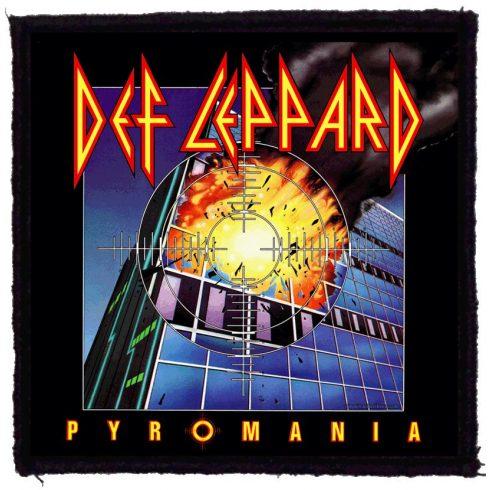 Def Leppard - Pyromania felvarró