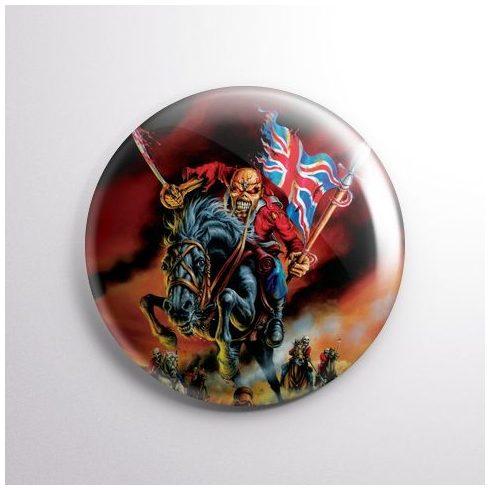 Iron Maiden - Maiden England kitűző