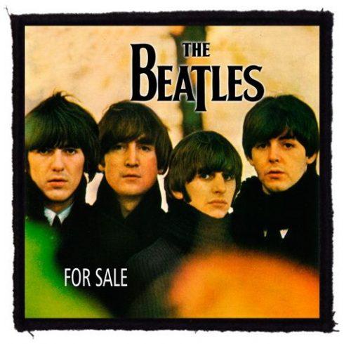 Beatles - For Sale felvarró