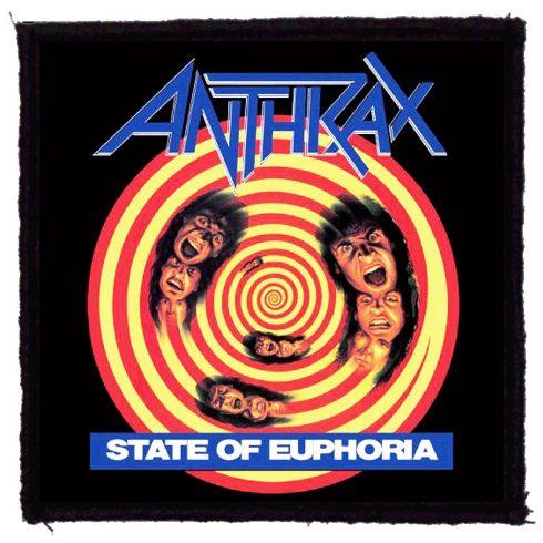 Anthrax - State Of Euphoria felvarró