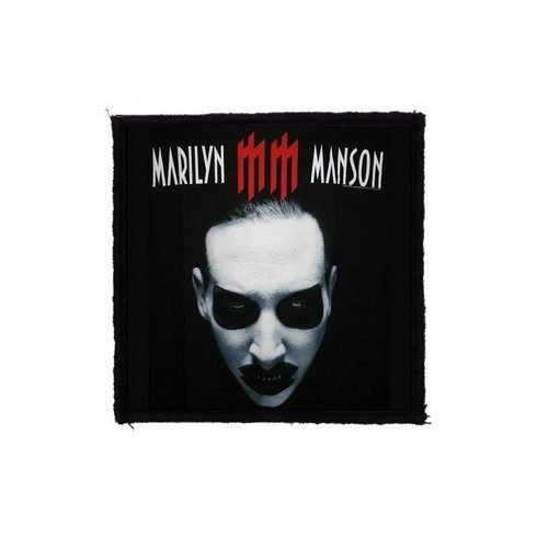 Marilyn Manson - MM felvarró