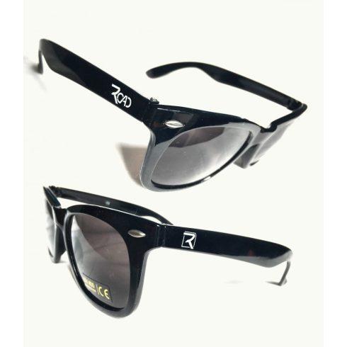 Road napszemüveg (fényes fekete)