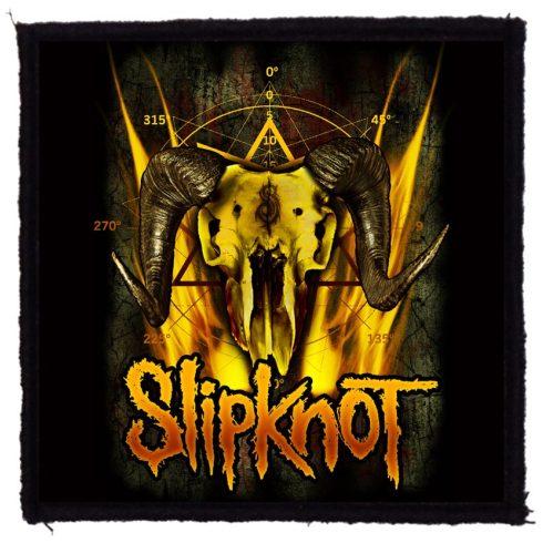 Slipknot - Goat Skull felvarró