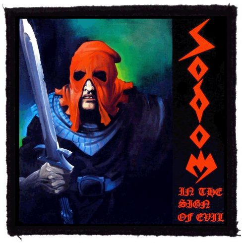 Sodom - In The Sign Of Evil felvarró