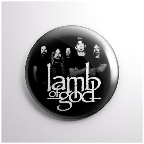 Lamb Of God - Band kitűző