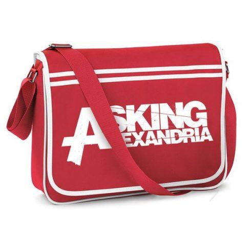 Asking Alexandria - Logo táska