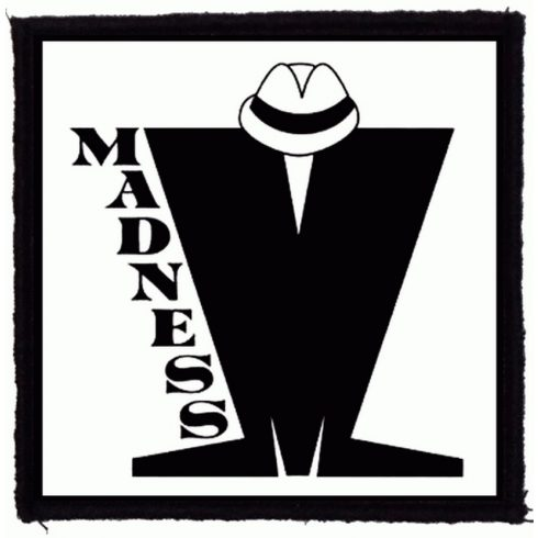 Madness - Logo felvarró