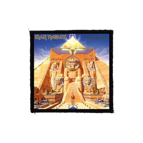 Iron Maiden - Powerslave felvarró
